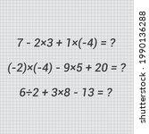 the basic mathematical...   Shutterstock .eps vector #1990136288
