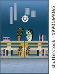 illustration of interiors...   Shutterstock .eps vector #1990164065