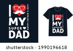 father's day t shirt design...   Shutterstock .eps vector #1990196618