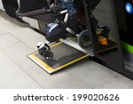 access ramp for disabled... | Shutterstock . vector #199020626