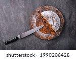 Half Of Fresh Perfect Muffin...