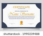diploma certificate border...   Shutterstock .eps vector #1990239488