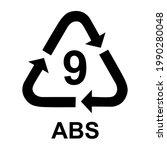plastic symbol  ecology... | Shutterstock .eps vector #1990280048