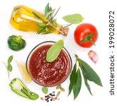 Постер, плакат: Red sauce and