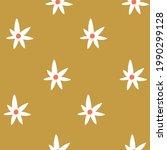 vector star seamless pattern in ... | Shutterstock .eps vector #1990299128