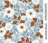 stylish beautiful flowers... | Shutterstock .eps vector #1990300295