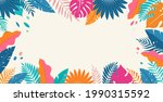 hello summer concept design ... | Shutterstock .eps vector #1990315592