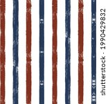 stripes seamless pattern  red...   Shutterstock .eps vector #1990429832