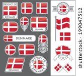 A huge vector collection of Danish flags in multiple different styles. In total there are 17 unique treatments that will be useful for a variety of applications.