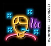 illness man neon light sign... | Shutterstock .eps vector #1990482335