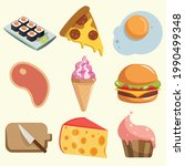 Food Vector Clip Art Set With...