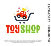 online toy shop logo design. ... | Shutterstock .eps vector #1990546055