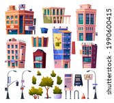megapolis streets and buildings ... | Shutterstock .eps vector #1990600415