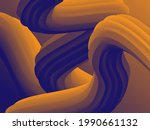 abstract 3d cover with bright... | Shutterstock .eps vector #1990661132