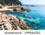 cala estreta  little coast... | Shutterstock . vector #199066202