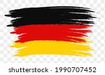abstract germany flag using...   Shutterstock .eps vector #1990707452