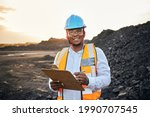 A Young Black African Coal Mine ...