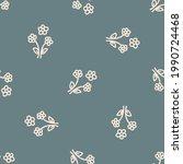 seamless background flower... | Shutterstock .eps vector #1990724468