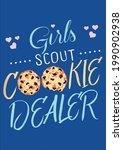 cookie dealer scouts bake shop...   Shutterstock .eps vector #1990902938