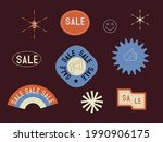 sale vector stickers and labels ... | Shutterstock .eps vector #1990906175