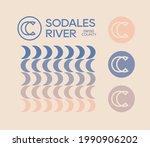 letter c  double c logo icon... | Shutterstock .eps vector #1990906202