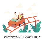 father and daughter characters... | Shutterstock .eps vector #1990914815