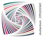 A Colorful Vortex Pattern...