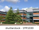 office building and trees | Shutterstock . vector #1991030