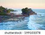 the tanah lot temple  the most... | Shutterstock . vector #199103378