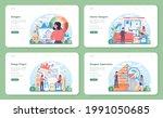 interior designer web banner or ...   Shutterstock .eps vector #1991050685