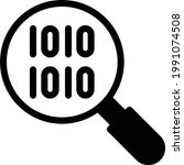 search vector glyph flat icon   Shutterstock .eps vector #1991074508
