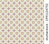 abstract cross pattern... | Shutterstock .eps vector #1991124752