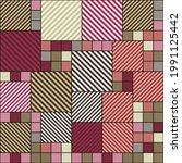abstract geometric pattern... | Shutterstock .eps vector #1991125442