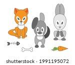 funny vector illustration of...   Shutterstock .eps vector #1991195072
