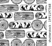 simple hand drawn vector black...   Shutterstock .eps vector #1991197568