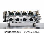 Cylinder Head Of An Automobile...
