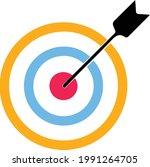 target aim icon multy   cross... | Shutterstock .eps vector #1991264705
