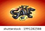 hot sale vector banner or...   Shutterstock .eps vector #1991282588