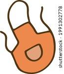 apron gardening vegetable...   Shutterstock .eps vector #1991302778