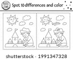 Summer Find Differences Game...