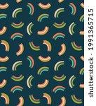 vector simple rainbow baby... | Shutterstock .eps vector #1991365715