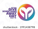 national give something away... | Shutterstock .eps vector #1991438798