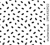 brush strokes vector seamless... | Shutterstock .eps vector #1991452922