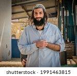 Portrait Of A Jewish Man On...