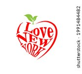 made with love in new york.... | Shutterstock .eps vector #1991484482