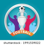 european football 2020... | Shutterstock .eps vector #1991539022