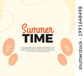summer holiday season design... | Shutterstock .eps vector #1991648498