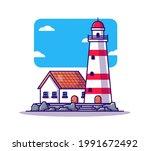 factory building cartoon vector ... | Shutterstock .eps vector #1991672492