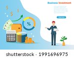 successful and growth business...   Shutterstock .eps vector #1991696975
