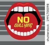 stop bullying sign stop... | Shutterstock .eps vector #1991700098